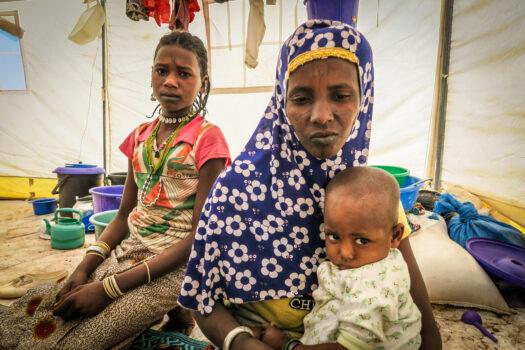 Konflikt i Burkina Faso sender en million på flugt