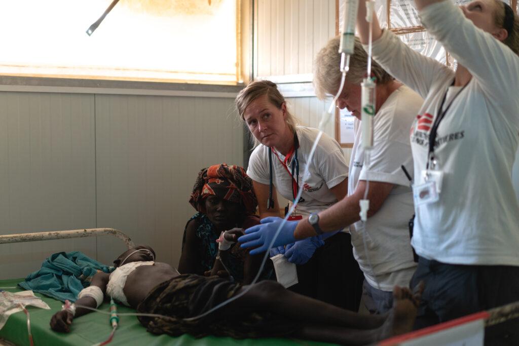 Kampe i Sydsudan sender folk på flugt