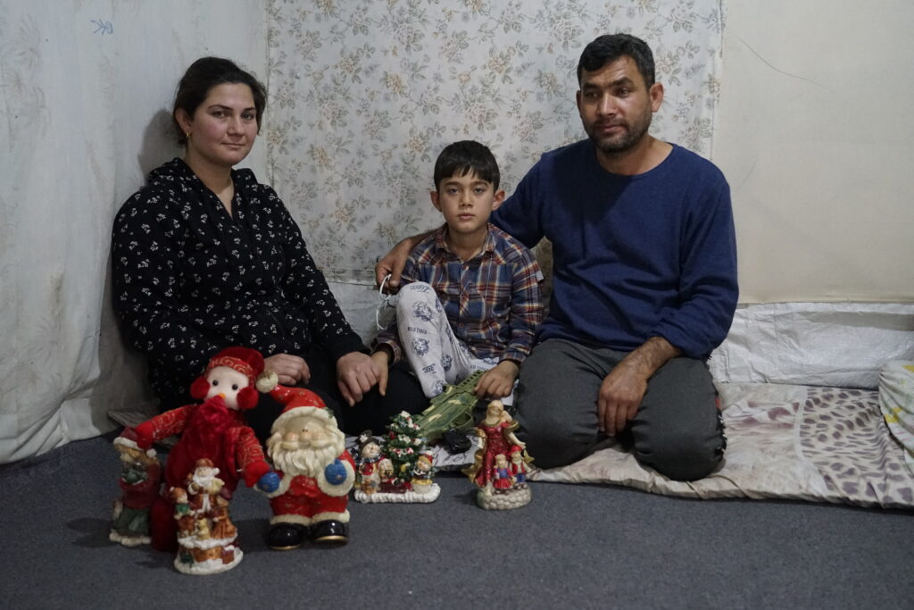 Flygtninge fra Syrien på Samos