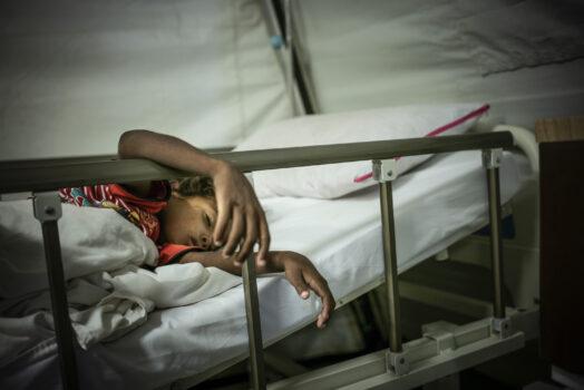 Børn bliver ofre for borgerkrigen i Yemen