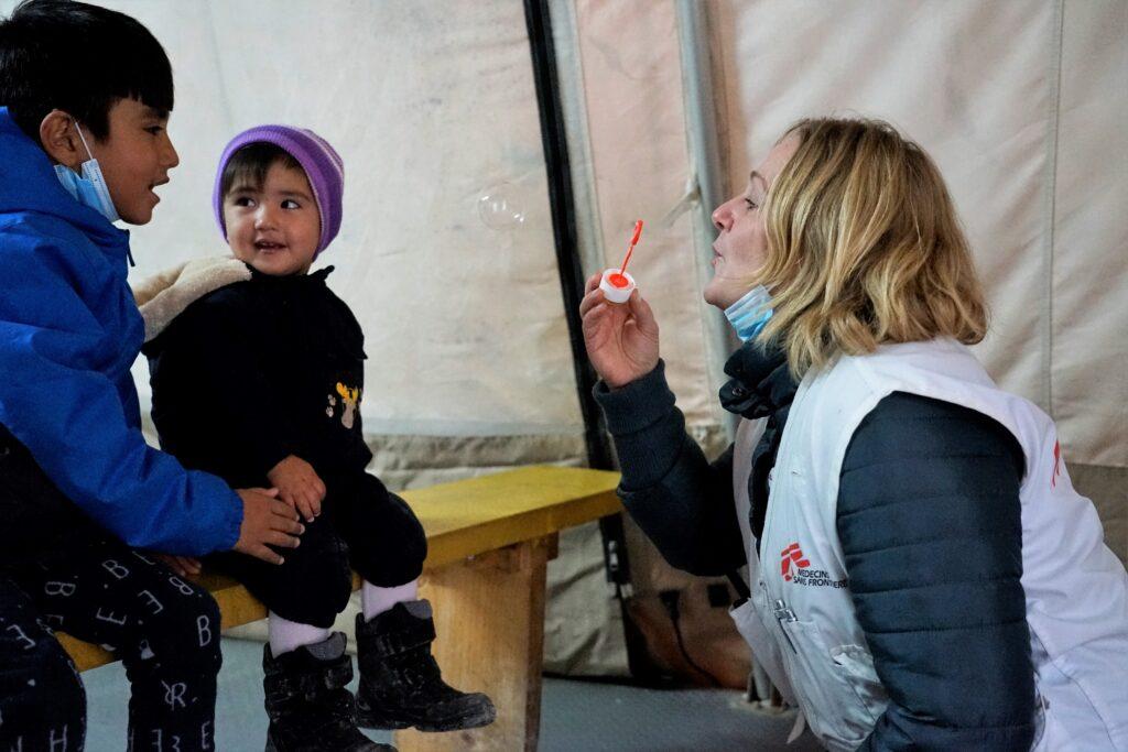 Flygtninge Lesbos