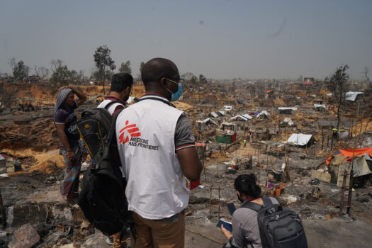 Verdens største flygtningelejr i Cox's Bazar i Bangladesh