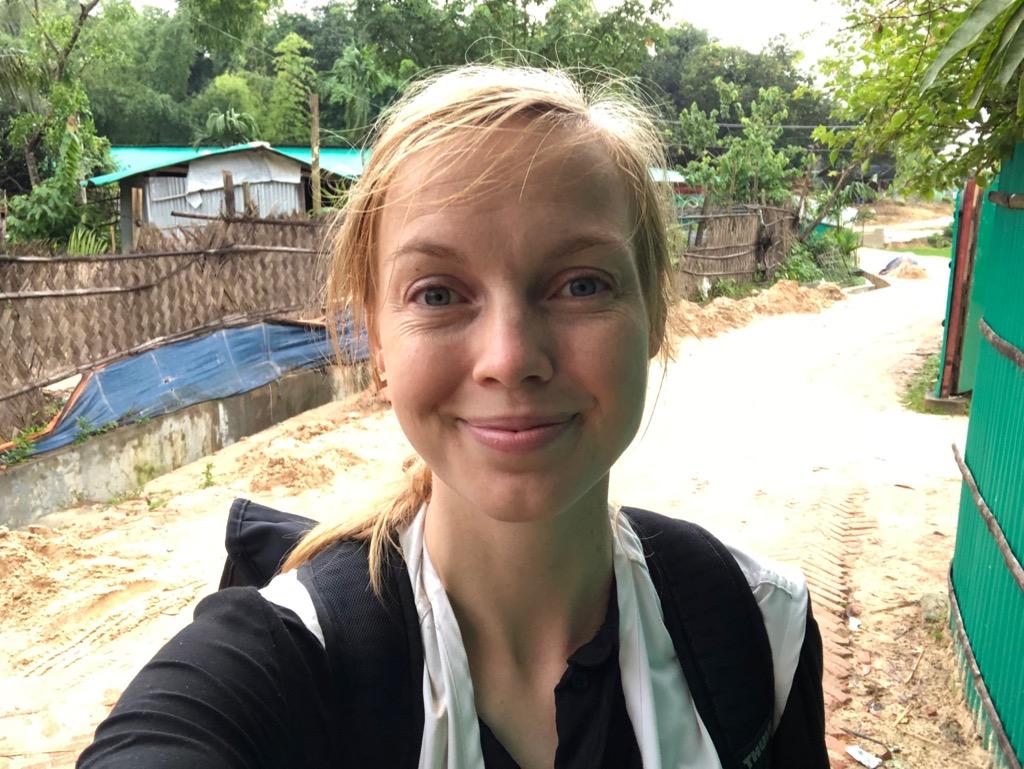 Sarah Vinberg i Bangladesh