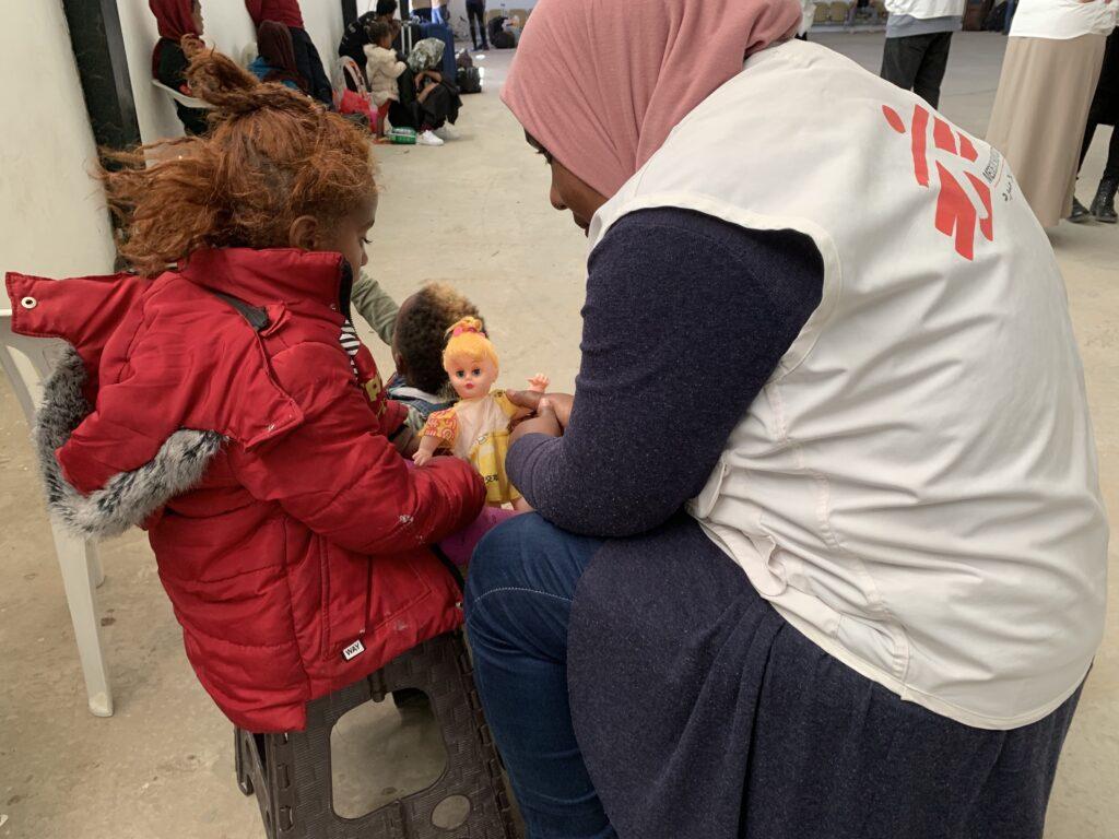 Detentionscentre for flygtninge i Libyen