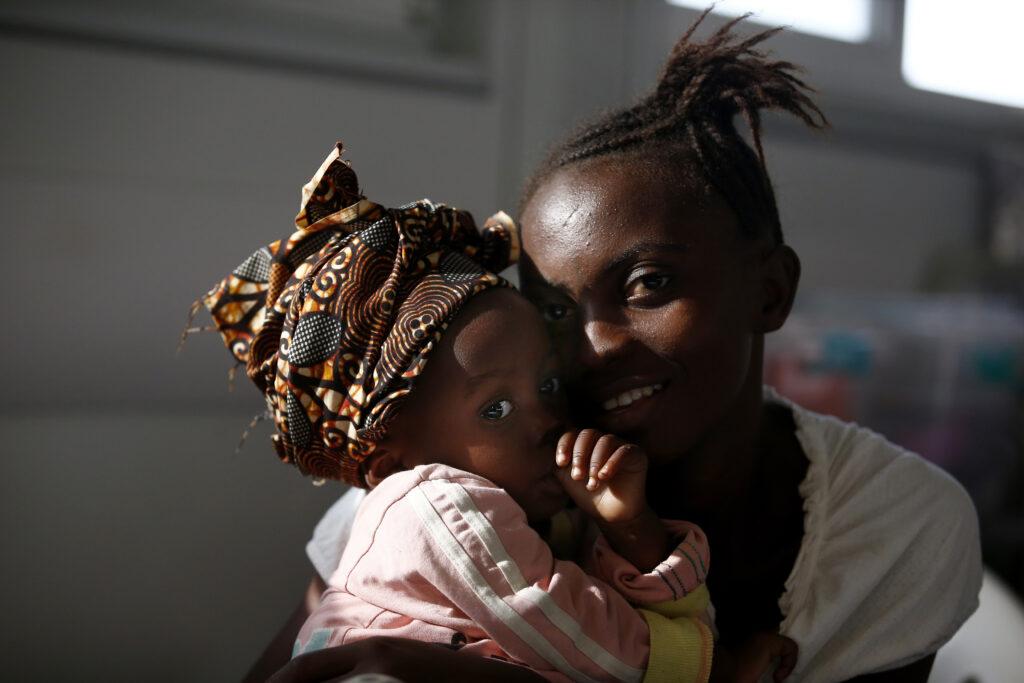 Læger uden Grænsers (MSF) børnehospital i Kenema i Sierra Leone