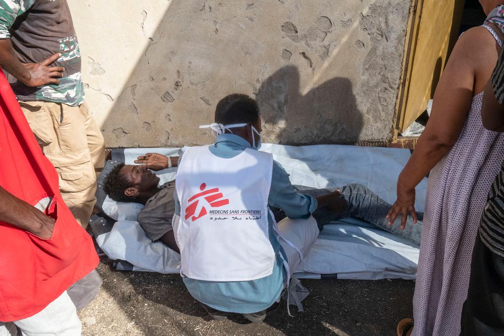 Læger uden Grænser hjælper flygtninge i Etiopien