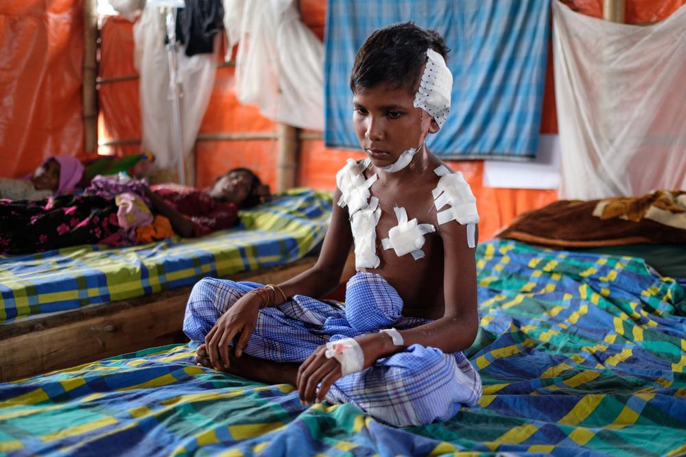 Læger uden Grænser hjælper rohingyaer i Bangladesh