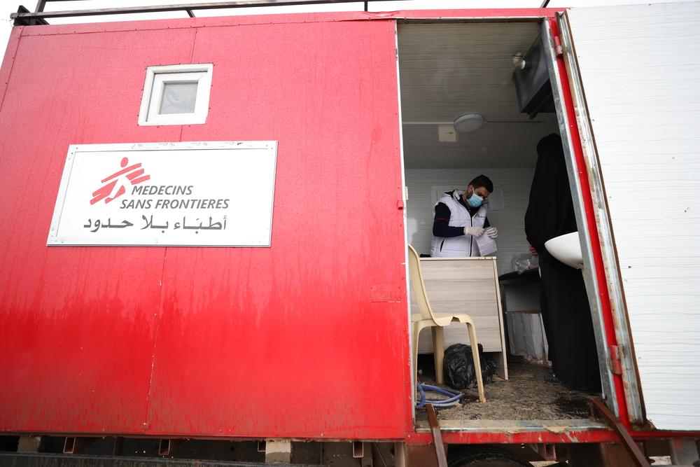 Læger uden Grænser hjælper flygtninge i Syrien