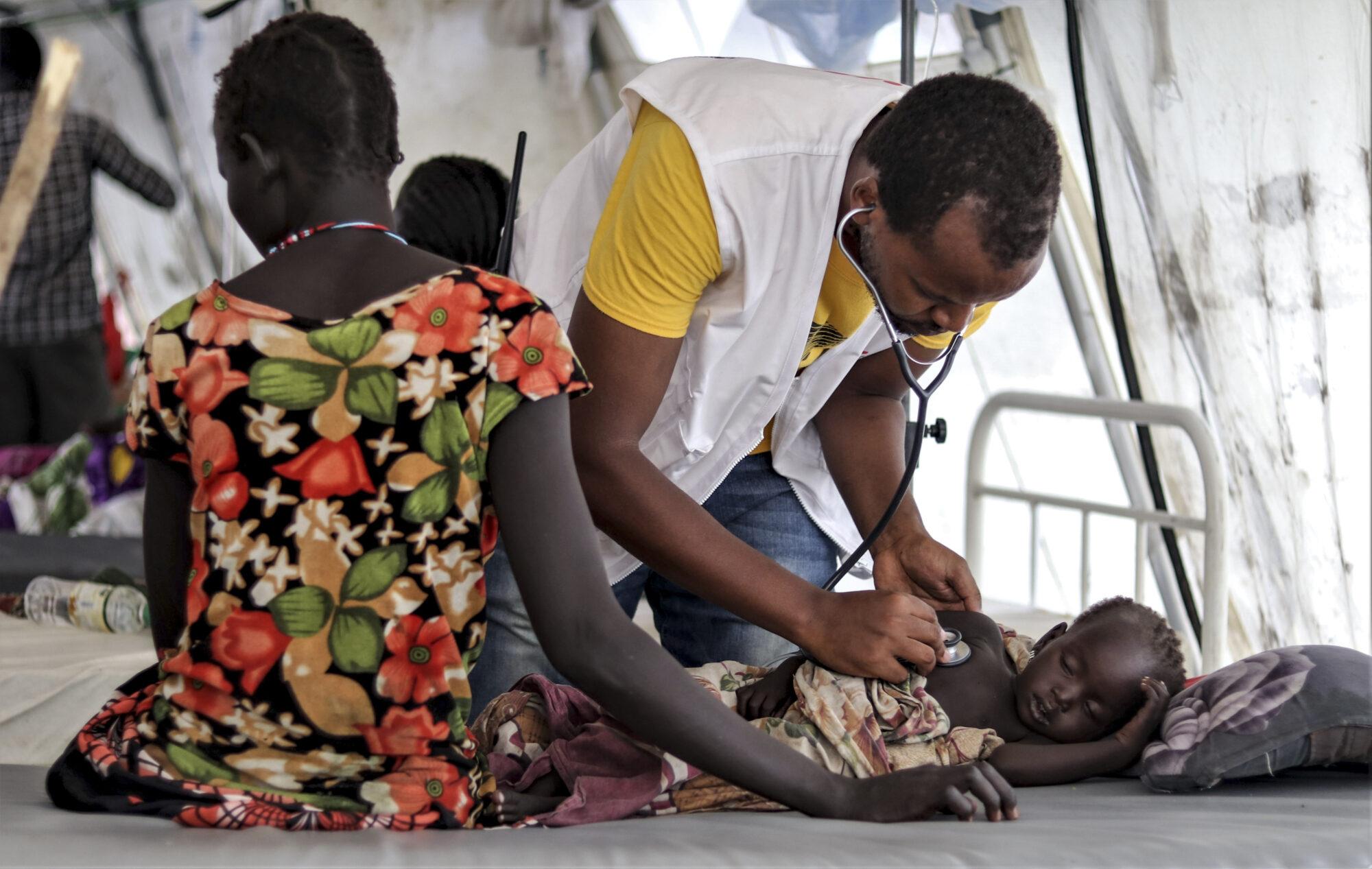 Millioner på flugt i Sydsudan fra borgerkrig, konflikt, oversvømmelse