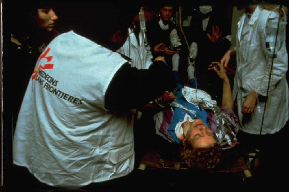 Læger uden Grænser hjælper i Sarajevo