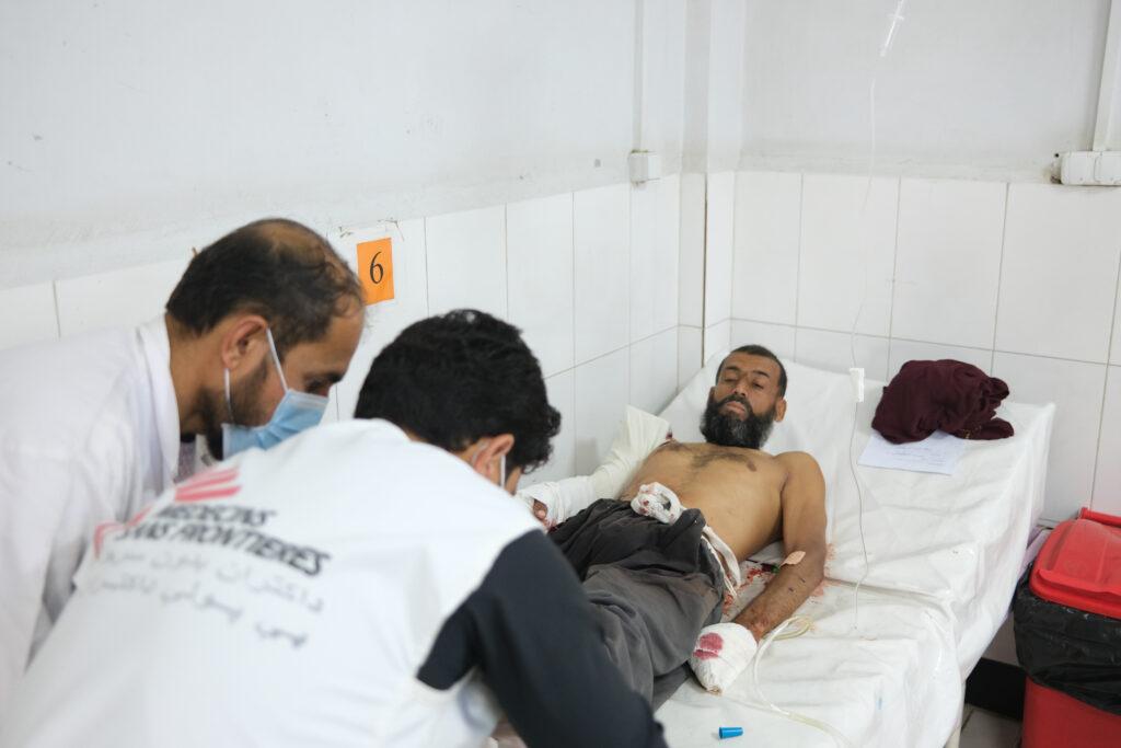 Læger uden Grænser behandler sårede i Afghanistan