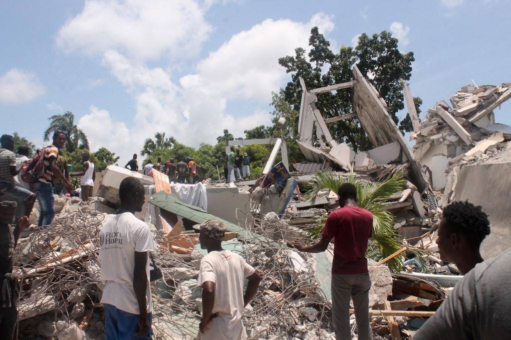 Jordskælvet i Haiti