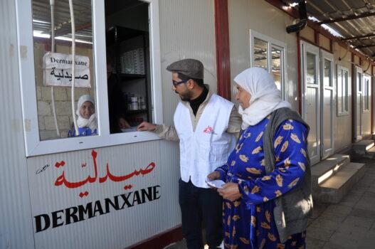 Udlevering af medicin i Syrien